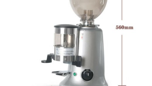 Commercial 350W Coffee Grinder Burr Mill 1.2kg Round Hopper Aluminum Body  Silver Commercial Coffee, Cocoa & Tea Equipment Bar & Beverage Equipment