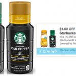 NEW* /1 Starbucks Iced Coffee Brewed to Personalize or Espresso Classics  Coupon - Hip2Save