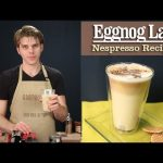 How to Make a perfect Eggnog Latte with the Nespresso Machine - YouTube