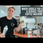 How often should you clean & service a coffee machine? - YouTube