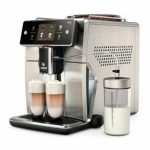 cappuccino for brewing espresso latte & flat white double boiler Saeco  super-automatic espresso coffee machine with an adjustable grinder SM7685  Xelsis Espresso Machines Kitchen & Dining