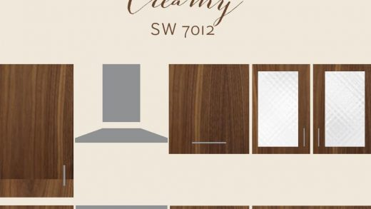 The Best Wall Colors To Update Stained Cabinets | Rugh Design