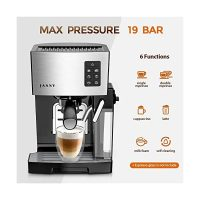 Espresso Machine Coffee Maker 19 Bar Cappuccino Machines Powerful Steamer  for Home Barista Cafe/Programmable Function… - Life-bus