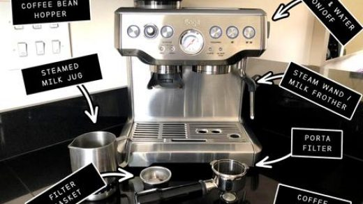 How to clean a Barista Express coffee machine (Breville - Sage) - Caffin8  Coffee