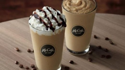 Free coffee drinks: McDonald's new cold-brew frappé, freeze