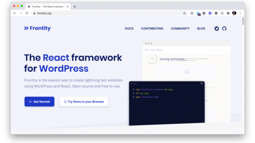 Frontity is React for WordPress   CSS-Tricks