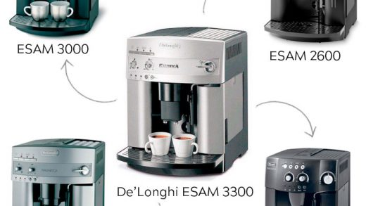 Delonghi Magnifica ESAM 3000/3300: detailed review and comparison with the  ESAM 2200/2800/3200   101Coffeemachines.Info
