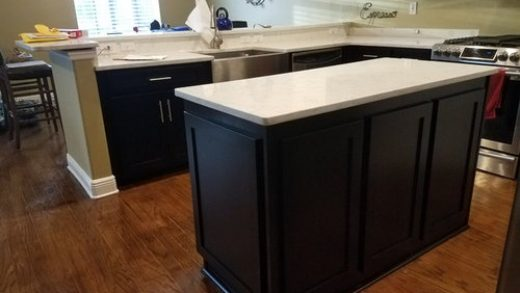 what color Hardwood goes well with espresso cabinets