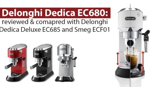 Delonghi EC 680/685 Dedica: a narrow and compact espresso maker with  automatic dosing and a thermoblock for lovers of long coffee. |  101Coffeemachines.Info