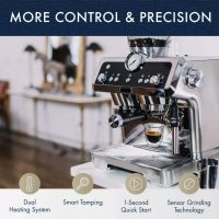 New Year Sale:Perfect espresso machine☕ = automatic grinder? + milk  frother?(buy 2 get 20% off,buy 3 get 25% off) – Direct-Department