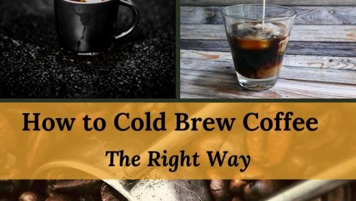 How to Cold Brew Coffee | Easy Steps for Cold Brewing Coffee