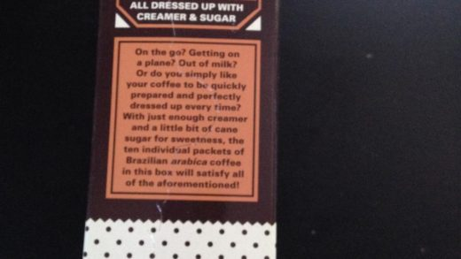 Trader Joe's: Instant Coffee Packets | Caffeine Concept