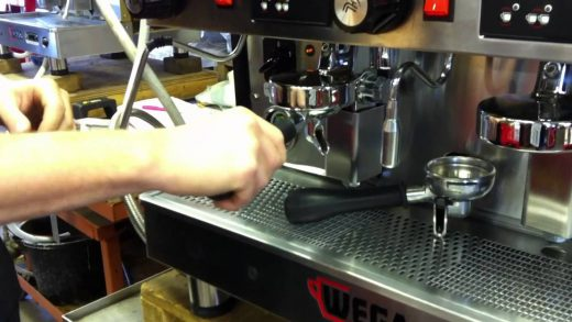 How to back flush your coffee machine - YouTube