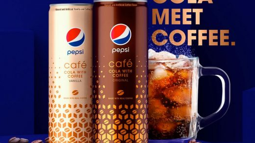 Pepsi doubles the caffeine for Pepsi Cafe coffee drink