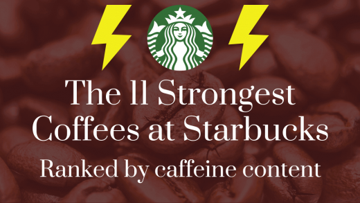 The 11 Strongest Coffees at Starbucks: Ranked by Caffeine Content