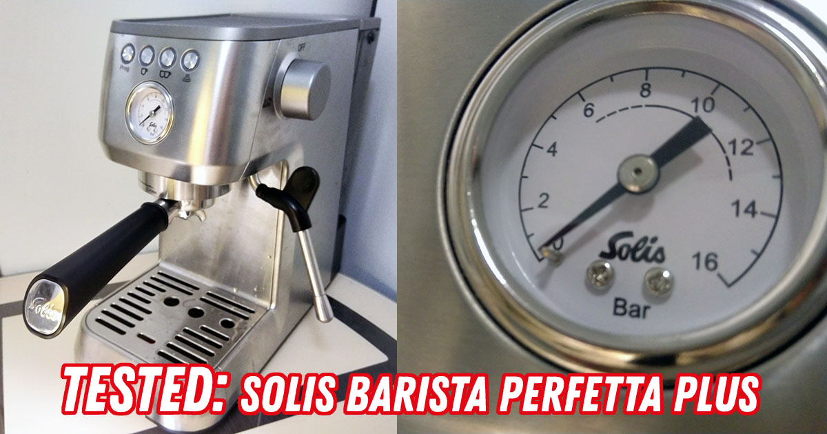 Solis Barista Perfetta Plus Test and Review: a homebarista starter kit |  101Coffeemachines.Info